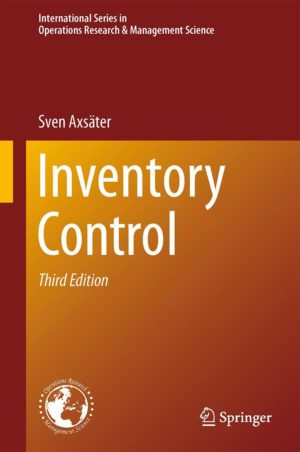 "Book Review – ""Inventory Control"" by Sven Axsäter"